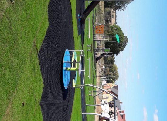 modern playground surfacing ecosmart grass mats