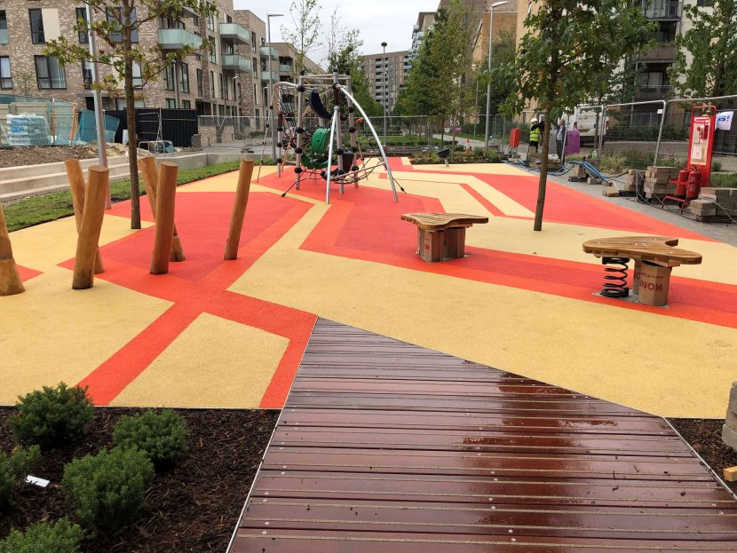 wetpour playground design