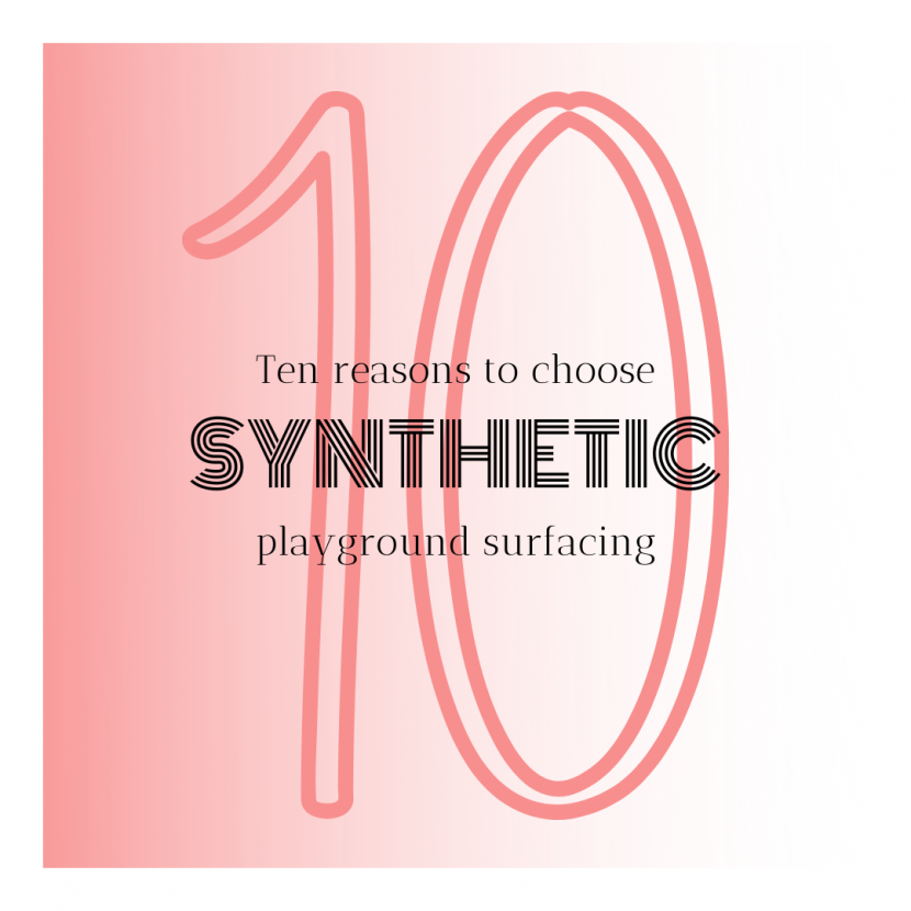 synthetic playground surfacing