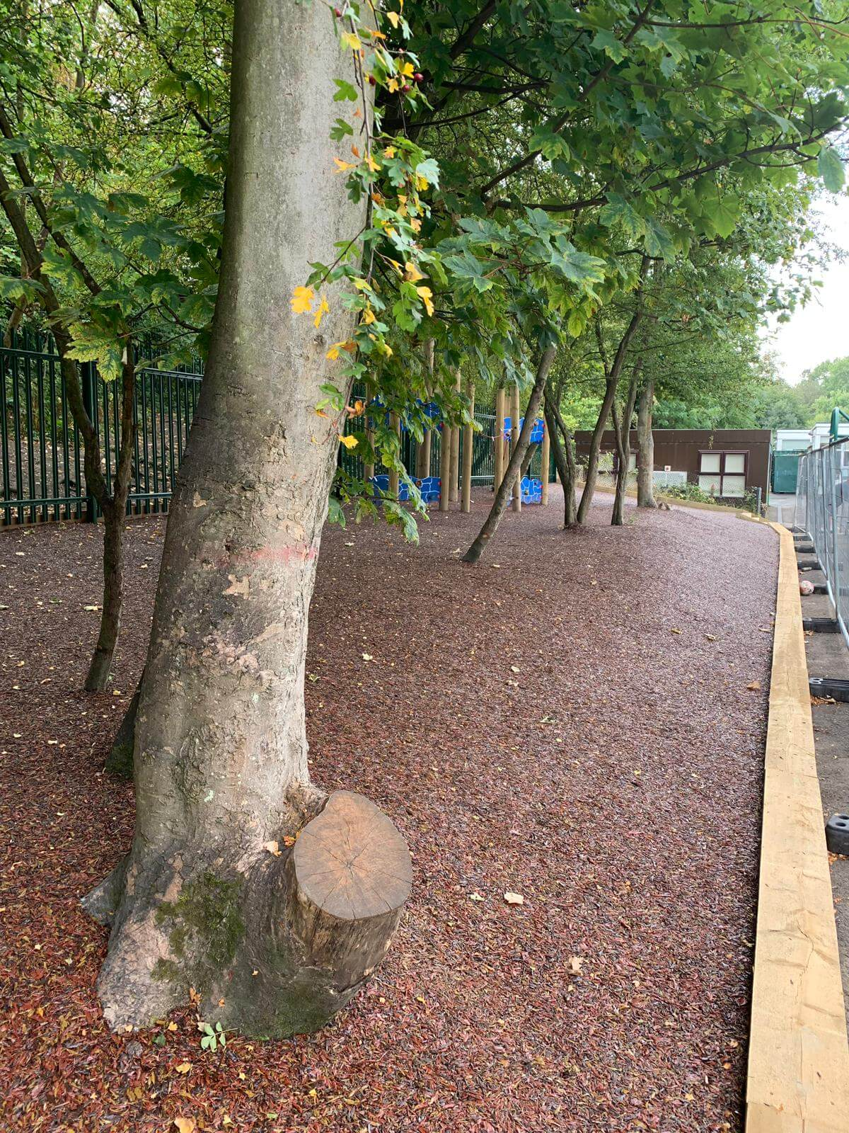 rubber mulch play area surfacing