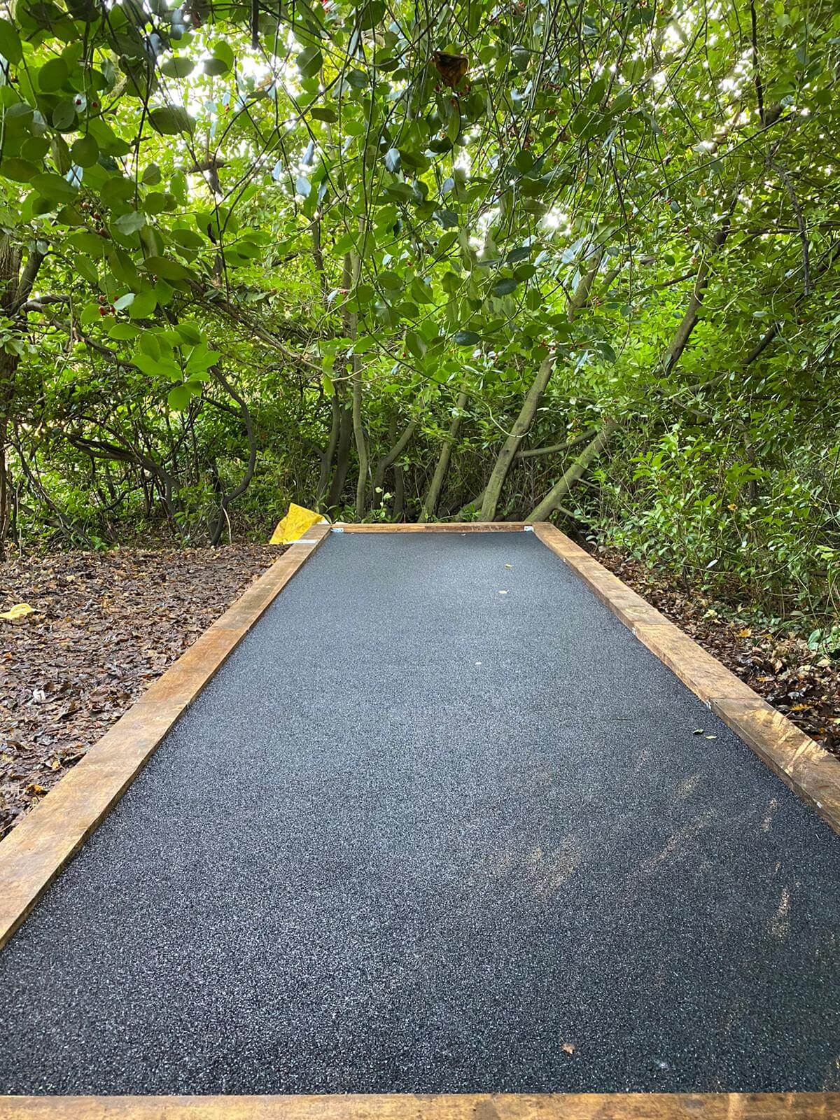 wet pour rubber play area surfacing