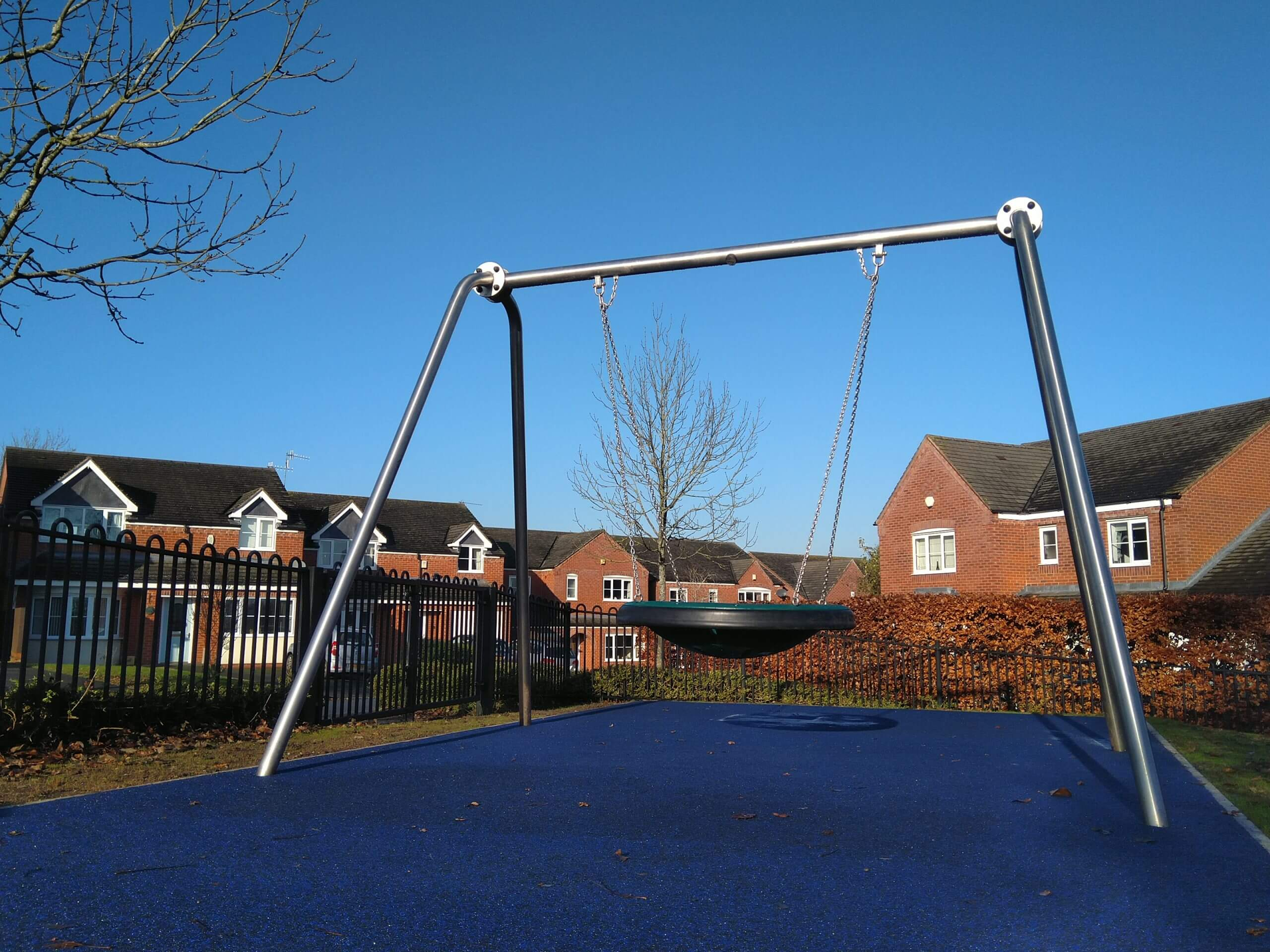 wet pour rubber safety surfacing outdoor playground solutions