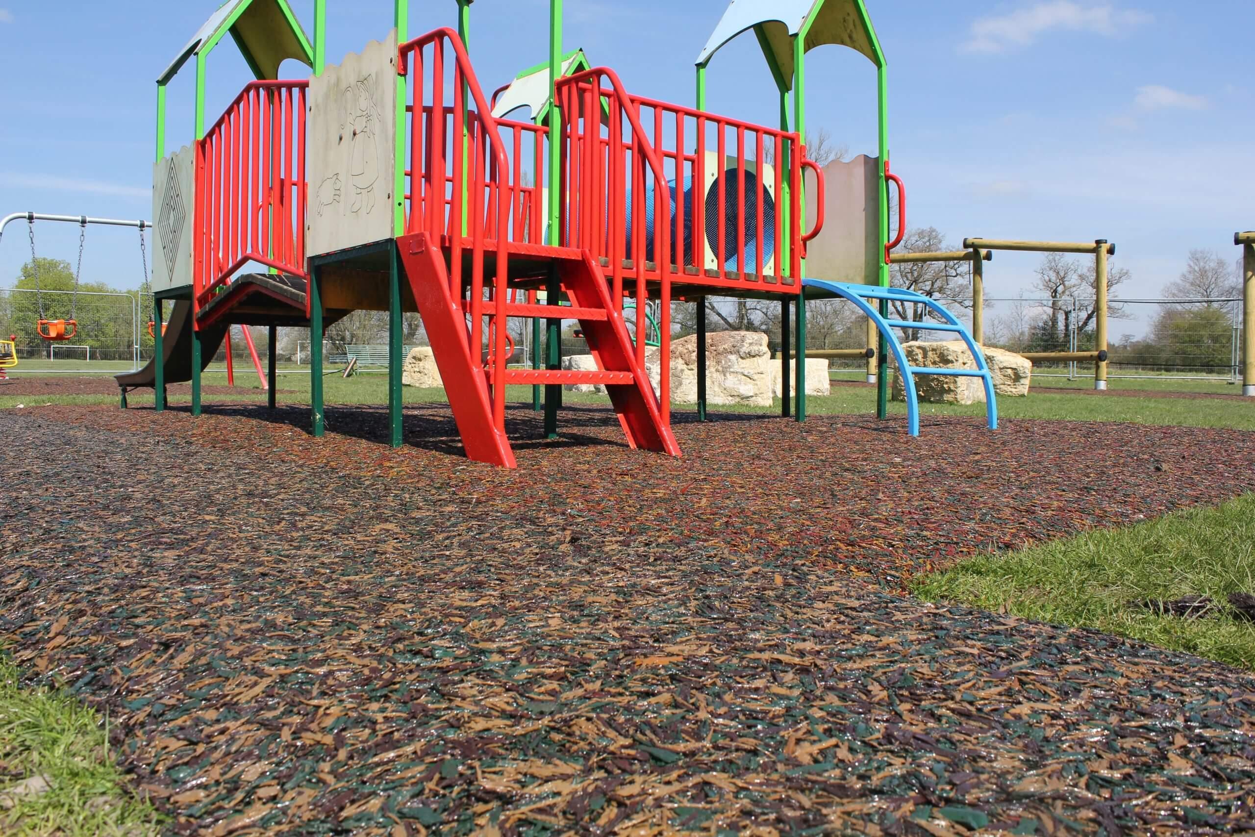safe flooring play area