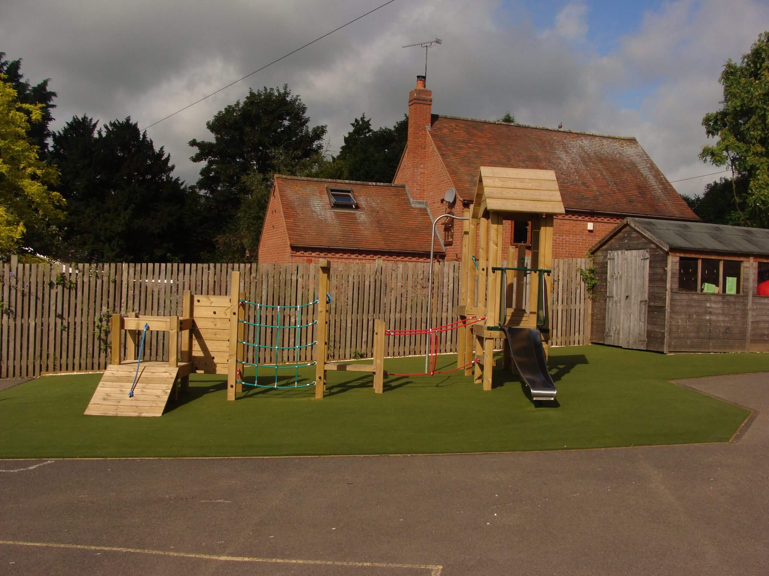 artificial grass for school playground
