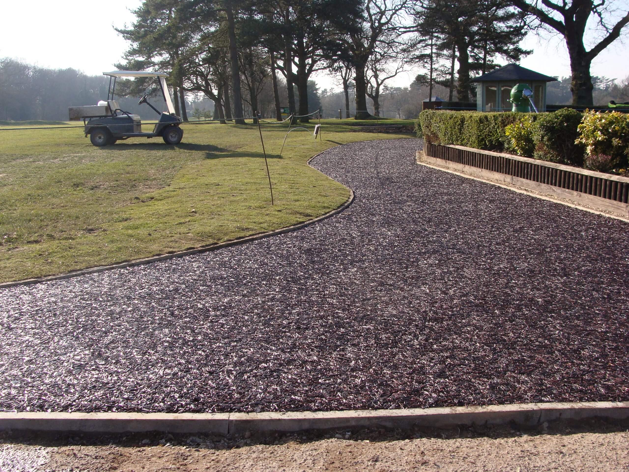 golf club pathway surfacing