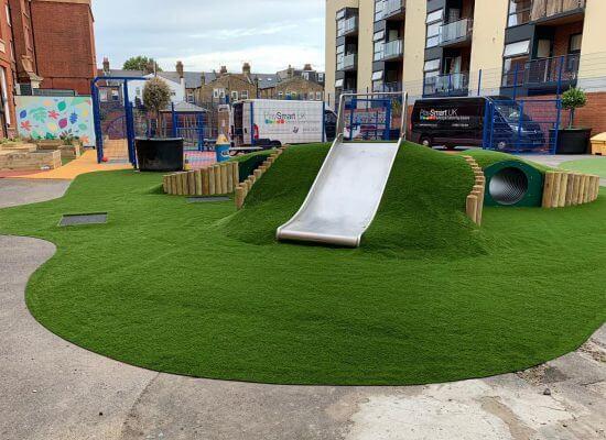 playground artificial grass