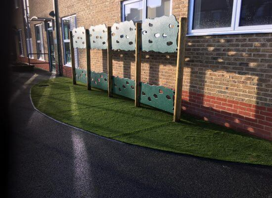 primary school artificial grass