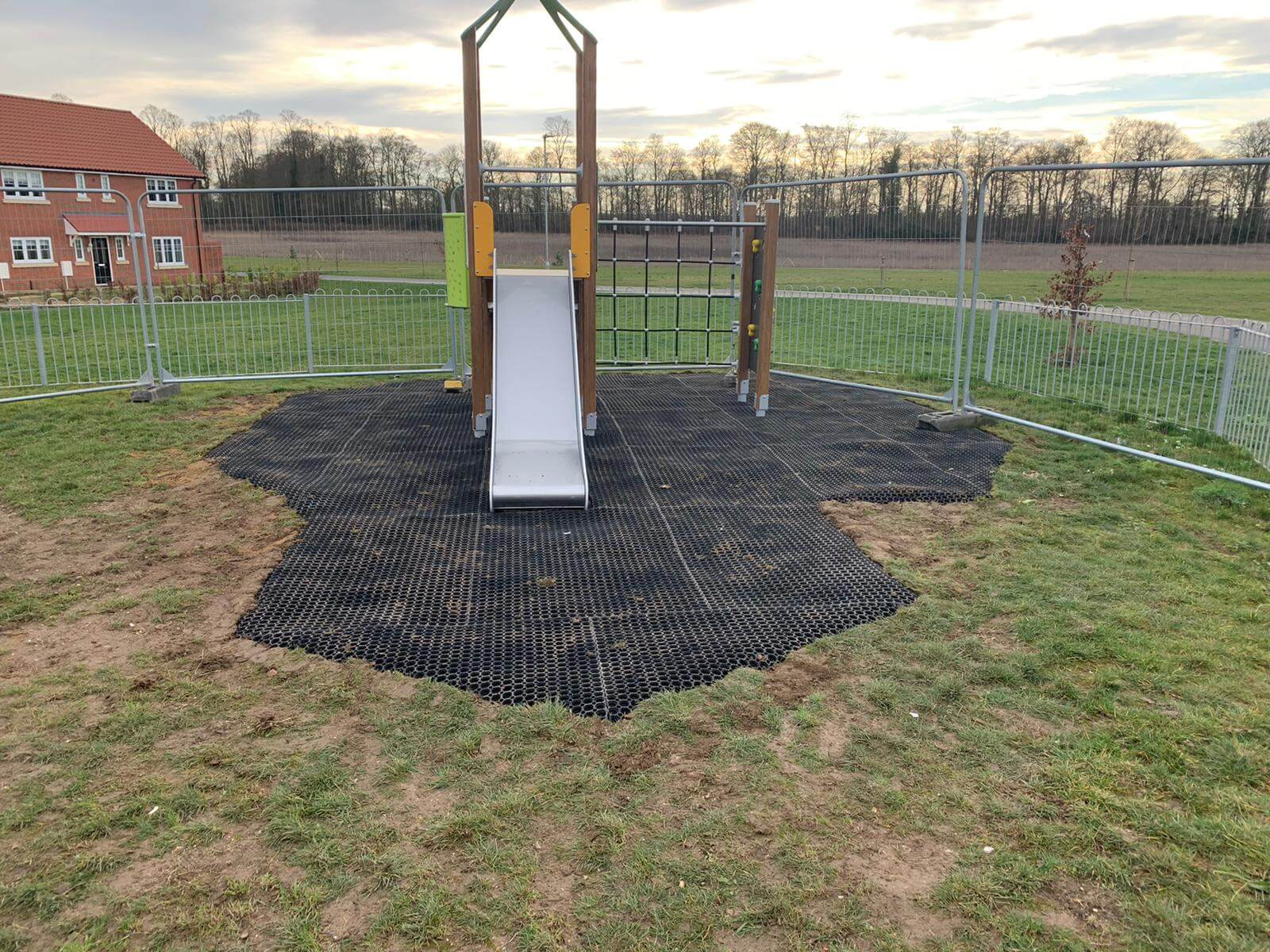 play equipment surfacing
