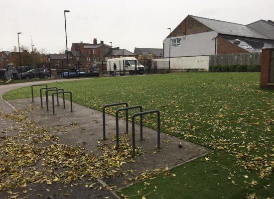 childrens playground artificial grass